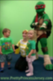 TMNT fans love our Turtle Ninja mascot-style characters. They are a great addition to themed events.