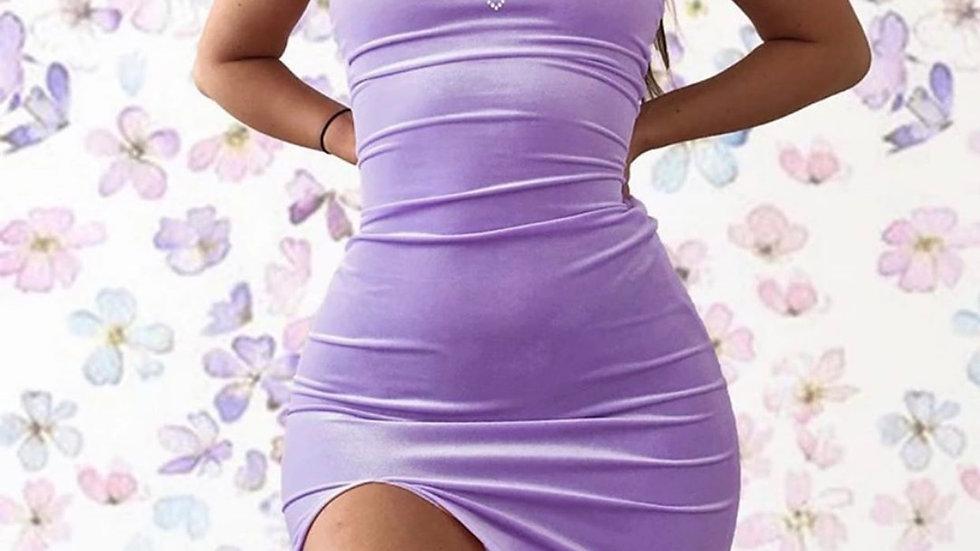 Lavender Heart Dress
