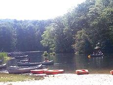 Boats on Hemlock Lake