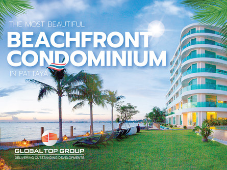 The Most Beautiful Beachfront Condominium in Pattaya