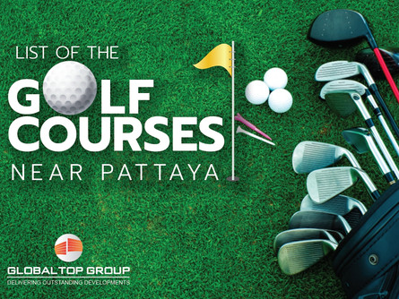 List of the Top Golf Courses near Pattaya