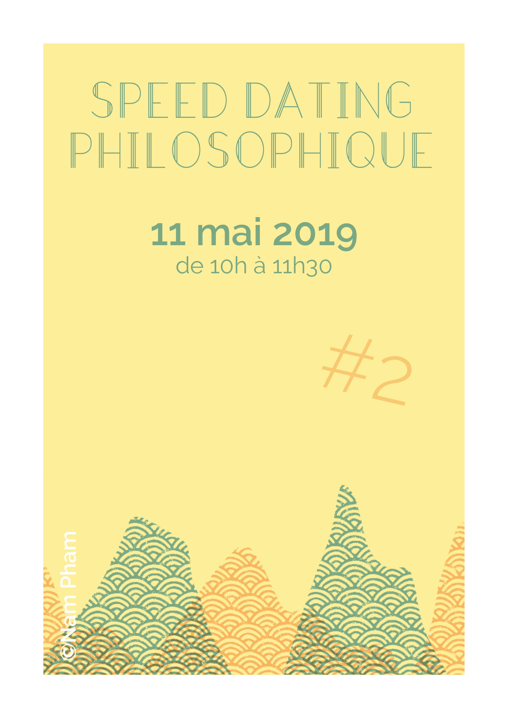 Speed Dating Philosophique // 11 mai