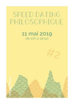 Speed Dating Philosophique // 11 mai