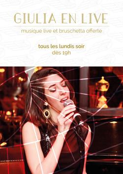 Live de Giulia