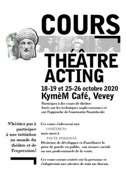 Cours de théâtre acting
