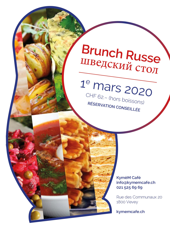 Brunch Russe le 1e mars 2020