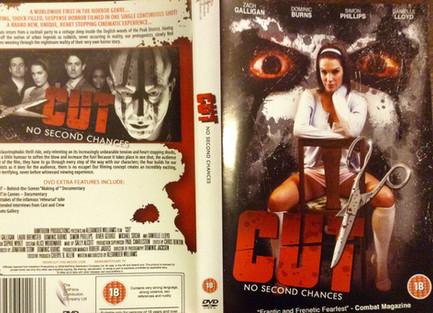 CUT DVD sleeve images. 2010