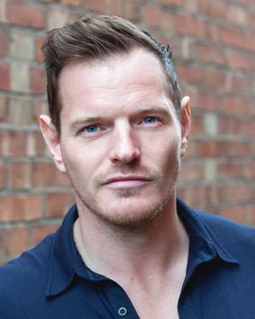 Acting headshot for Richard J Hall