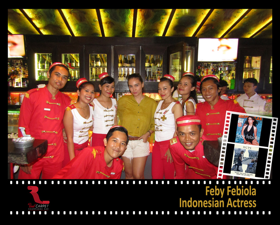 Feby Febiola - Indonesian Actress Framed