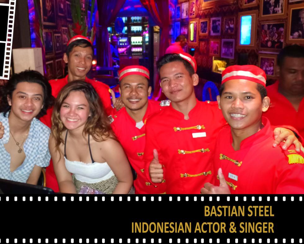 Bastian Steel - Indonesian Actor & Singe