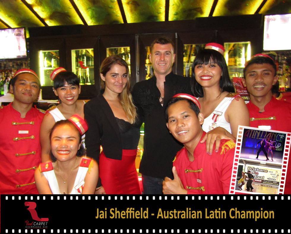 Jai Sheffield - Australian Latin Champio