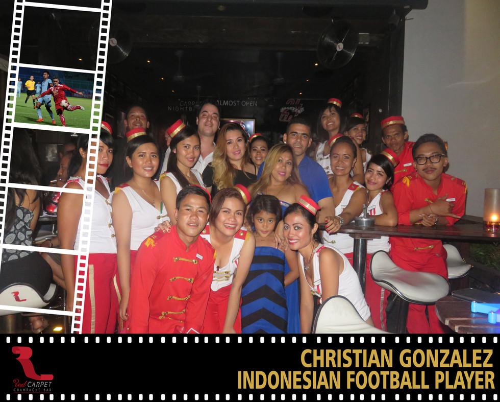 Christian Gonzalez - International  Foot