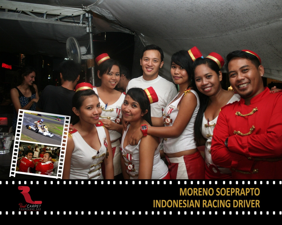 Moreno Soeprato - Indonesian Racing Driv