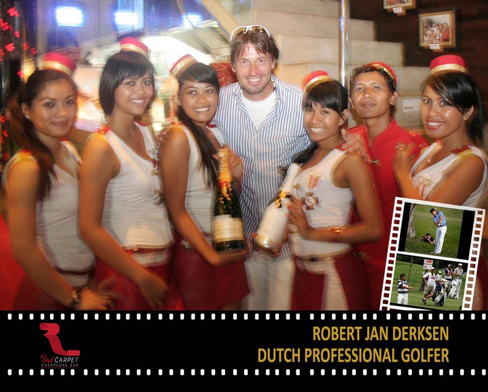 Robert Jan Derksen - Dutch Golf Player P