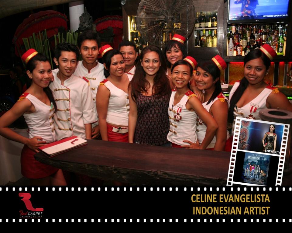 Celine Evangelista - Indonesian Artist.j