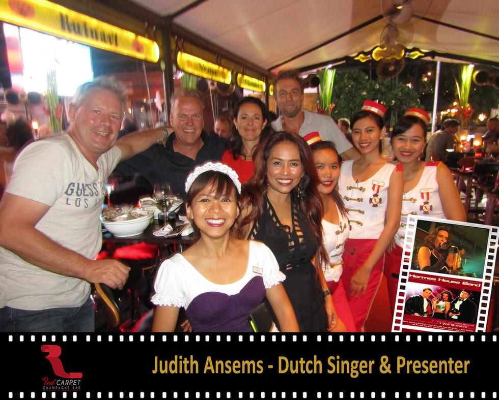 Judith Ansems - Dutch Singer & Presenter