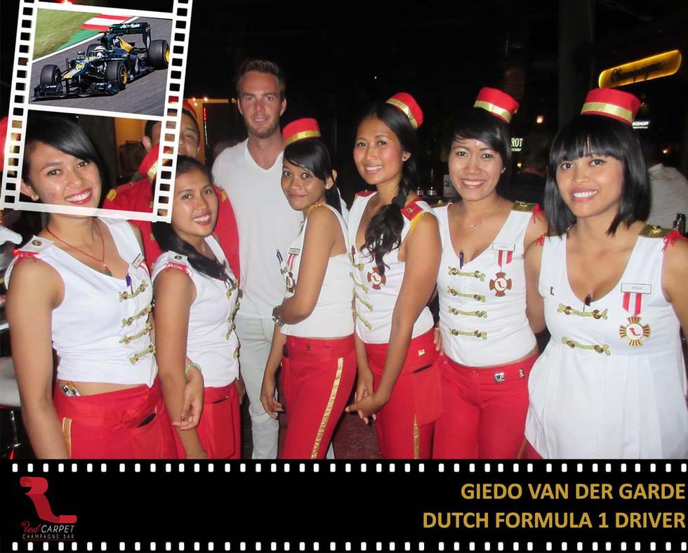 Giedo van Der Grade - Dutch Formula 1 Dr