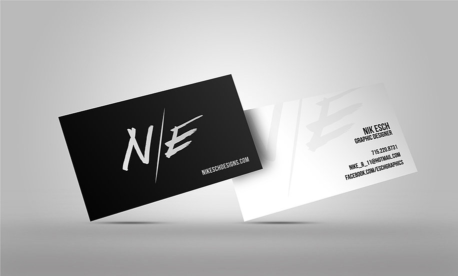 Freelance graphic designer nik esch designs business cards business cards colourmoves