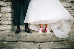 Mariée en converse