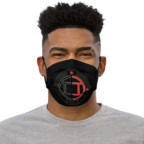 Inner Image - Mission, Mindset, Music - Face Mask - Red/Black