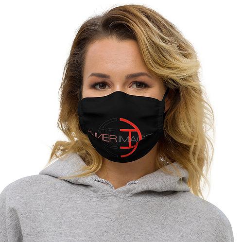 Inner Image - Logo-New Face Mask - Black