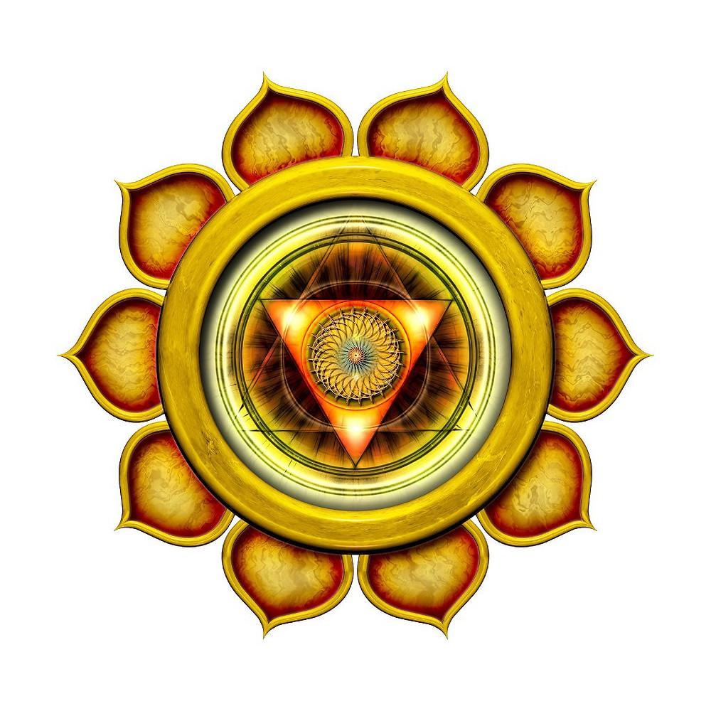 Расположение и локализация манипуры. Центр 3 третьей чакры. Какими качествами и навыками, чертами характера наделяет 3 чакра манипура.