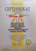Диплом Мастера Целителя Рейки традиционной линии передач Микао Усуи.