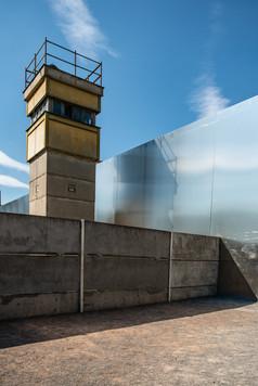 former watchtower at Wall Memorial Bernauer Straße