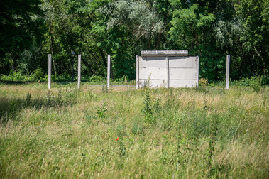 remains of the Wall in Glienicke