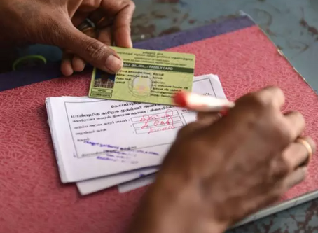 'New Ration Cards Not Being Made'