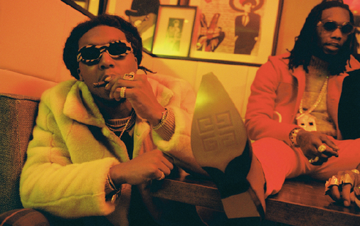 Migos - Wonderland Magazine Cover Shoot