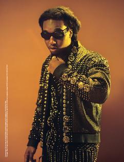 Migos - Wonderland Magazine Cover Shoot