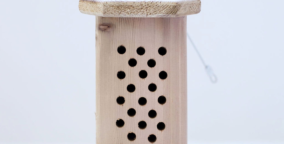 Mason Bee Houses from Birdie Adobes