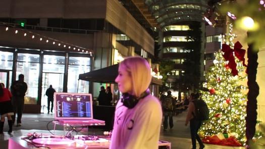 DJ Amy Robbins in San Francisco