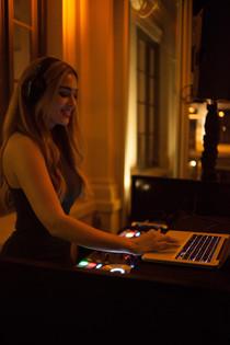DJ Christina Flame in San Francisco