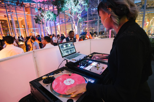 DJ Umami Cal Academy Wedding