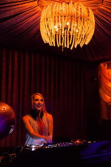 DJ Amy Robbins at Hawthorn San Francisco
