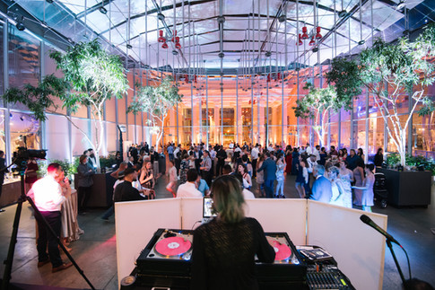 DJ Umami at Cal Academy Wedding