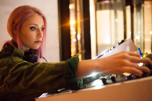 DJ Amy Robbins at W San Francisco