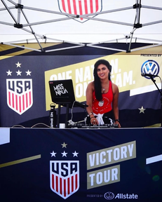 USWNT Victory Tour, Rose Bowl