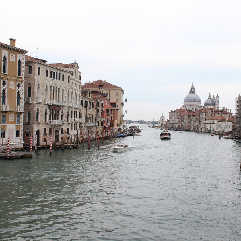 From the Ponte dell'Accademia