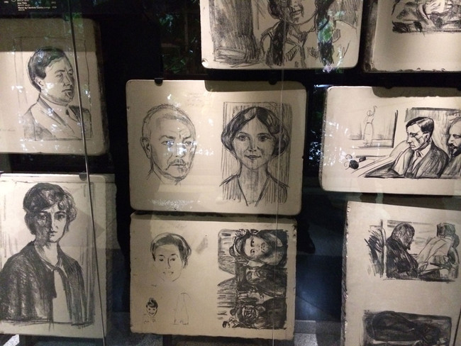 RESEARCH: Munch Museum (2014/15)