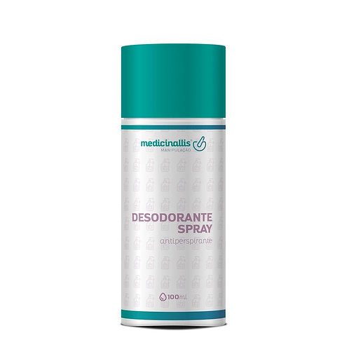 Desodorante Spray Antiperspirante