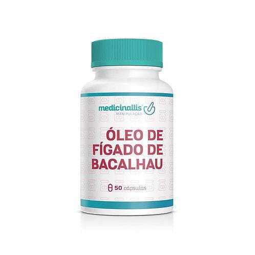 Óleo De Fígado De Bacalhau 250mg 100cáps