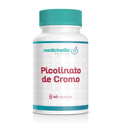 Picolinato de Cromo 500mcg 60cáps