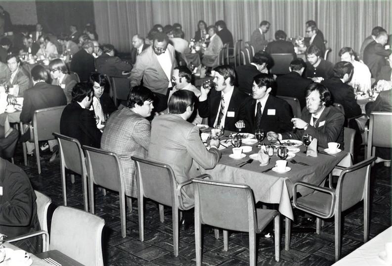 c. 1973: Houston Alumni Chapter, Wild Game Dinner, January 31, 1973, no identification.
