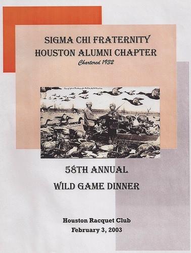 58th WGD Program