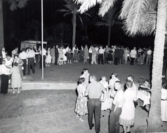 c. 1959: Houston Alumni Chapter Hawaiian Party at Shamrock Hilton, September 9, 1959.