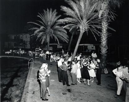 c. 1959: Houston Alumni Chapter Hawaiian Party at Shamrock Hilton, September 9, 1959