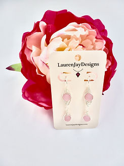 Herringbone Earrings, Dangle Earrings, B